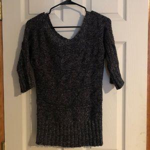 Lightweight dark grey sweater
